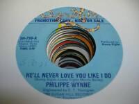 HEAR! Modern Soul 45 PHILIPPE WYNNE We'll Never Love You Like I Do on Sugar Hill