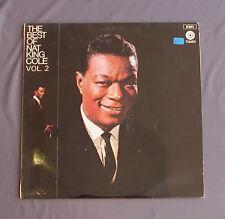 """Vinilo LP 12"""" 33 rpm THE BEST OF NAT KING COLE Vol.2"""