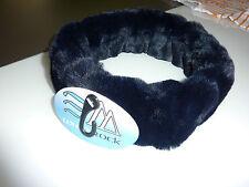 Gorgeous WHITE ROCK Fur Headband NWT