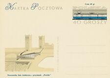 Poland Prepaid Postcard (Cp 236 II)- railway station