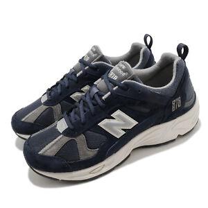 New Balance 878 Navy Silver Grey Men Lifestyle Retro Running Shoes CM878KE1 D