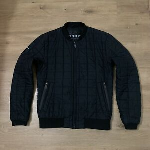 Superdry Surplus NY Bomber Varsity Jacket Coat Parka Spray Hoodie Jumper Shirt L