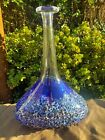 Magnor Norway Vase, Vulkan, Handmade and Mouth Blown Art Glass.