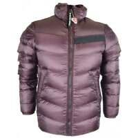 G-Star Deline Quilted Zip Up Burgundy Jacket