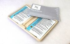 Nespresso Systems Two Descaling Kit's  Four Bags Kosher Fluid Kit's Universal