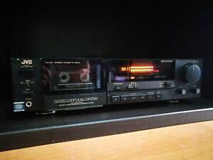 JVC TD-V521 stereo cassette deck Dual Capstan Dolby HX Pro