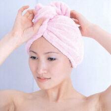 Magic Microfiber Bath Towel Hair Dry Hat Cap Quick Dry Womens Bathrooom Tool HOT