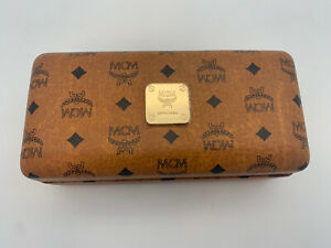 MCM Brand Authentic Hardshell Sunglasses Eyeglasses Case Clamshell with cloth