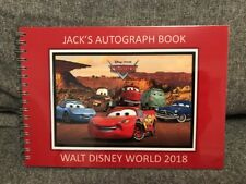 Personalised Disney Cars Autograph Book