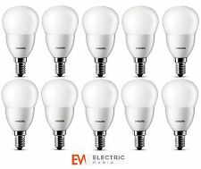 10x Philips LED Luster House Light Bulb Lamp E14 3W Warm White Energy Class A+