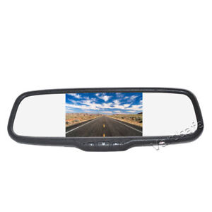 5 Inch Clip-on Color Rear View Mirror Monitor Screen Display for Backup Camera