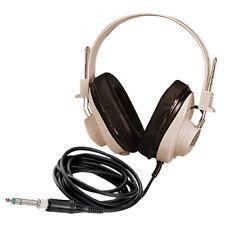 "Califone 2924Av, Monaural Headphone with a straight 6' cord and 1/4"" plug"