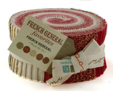 Jelly Roll~FRENCH GENERAL FAVORITES~MODA FABRIC~40-2.5 in Strips~903JR