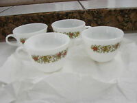 Pryex set of 4 Spice of Life coffee cups vintage