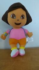 "10"" Dora The Explorer w Mr. Backpack Viacom Frankford Candy Plush Stuffed Doll"