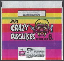More details for a&bc wrapper-crazy disguises 1970 (offer west ham football pennant)