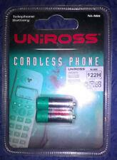 Telephone Battery - Uniross 122H   1.2V  400MAH   NI-MH   AAA