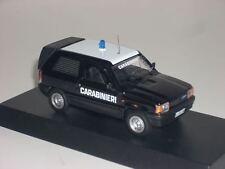 CARABINIERI POLICE Fiat Panda van scala 1/43