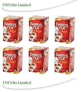 Barry's Tea GOLD BLEND 40 Tea Bags/ Red Label (Pack of 6) SOLD BY DSDELTA IRE