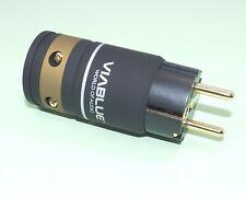 ViaBlue™ T6s SCHUTZKONTAKT STECKER 24K vergoldete Kontakte CEE 7/7 Schuko- 30600