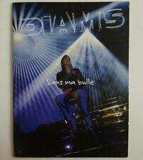 DIAM'S : DANS MA BULLE (LIVE) ♦ PROMO CD + LIVRET ♦
