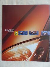 Renault Scenic MJ 2002 - Prospekt Brochure 12.2001 Belgien niederländisch