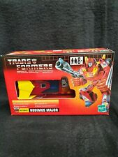 "Transformers Commemorative Series I ""RODIMUS MAJOR"" aka Hot Rod Reissue TRU"