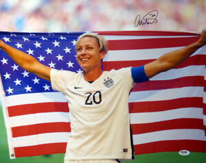 Abby Wambach Authentic Autographed Signed 16x20 Photo Team USA PSA/DNA Z86763