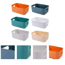 6PCS Plastic Storage Boxes Sundries Storage Baskets  for Hotel Home Desk