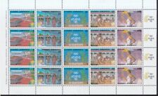 Griechenland 1988 postfrisch MiNr. 1687-1691 im Bogen Olympische Sommerspiele