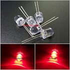 10mm  LED DIP Red 620nm  0.5 Watt Wide Angle Bright High Power LEDs 0.5w 50PCS