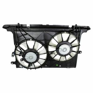 Dual Radiator Cooling Fan Assembly NEW for 08-12 Scion xB 2.4L