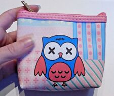 ZOMBIE OWL COIN PURSE wallet pouch bag dead bird kawaii gothic lolita punk U3