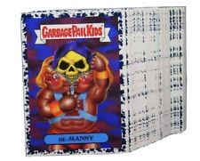 Garbage Pail Kids 2018 We Hate the 80's Complete Set Black Bruised 180 Cards