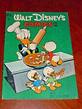 WALT DISNEY'S COMICS AND STORIES #134 (1951) VG (4.0) cond. 1st BEAGLE BOYS
