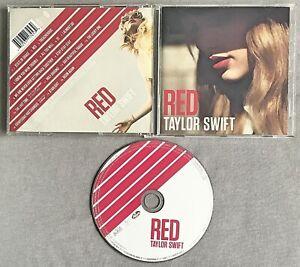 TAYLOR SWIFT - RED * * 2012 CD Album
