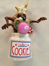 """Multicolor 3"""" Taz in Cookie Jar Character Figurine Ornament"""