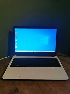 Hp 15-G255SA 15.6 Laptop AMD A6-5200 4GB RAM 1TB HDD DVDSM Windows 8.1 - White