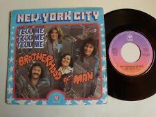 "BROTHERHOOD OF MAN : New-York city / Tell me, tell me 7"" 45T PYE 45. PY. 140147"
