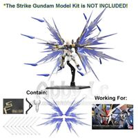 DRAGOON System Wing Effect Part w/ Base Set For RG 1/144 Strike Freedom Gundam