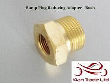 "3/8"" Female x 3/4"" Male BSP Thread Reducer Bush oil Pipe Fitting Adaptor - BRASS"