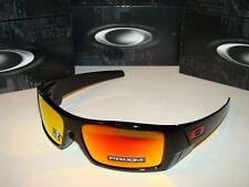 New Oakley Gascan 9014-4460 Polished Black - PRIZM Ruby Lens. Retail $163.