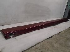 VI611426 00 MERSEDES ML320 163TYPE RIGHT PASSENGER RED SKIRT ROCKER MOLDING OEM