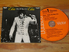 ELVIS PRESLEY - THAT'S THE WAY IT IS (ALBUM COLLEC) / CARDSLEAVE-CD 2016 (MINT-)