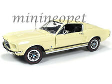 AUTOWORLD AMM1038 1967 FORD MUSTANG 2+2 GT COUNTRY SPECIAL 50TH ANNIVERSARY 1/18