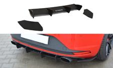REAR DIFFUSER & REAR SIDE SPLITTERS SEAT LEON MK3 CUPRA (2012-2016)