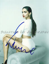DEEPIKA PADUKONE SIGNED 8X10 PHOTO reprint