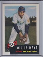 WILLIE MAYS 1991 Topps Archives 1953 #244   (C6111)