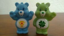 Pair 2 Set Care Bears Figures Good Luck Champ Trophy Shamrock Cake Toppers