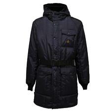1027AC parka uomo REFRIGIWEAR giubbotto BLUE jacket men